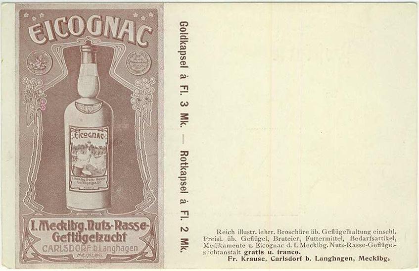 Eicognac Postkarte Gut Carlsdorf
